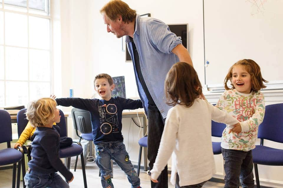 cours de théâtre maternelle