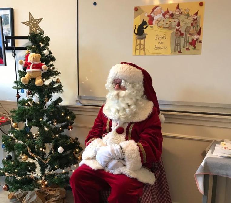 Noël à l'école de français