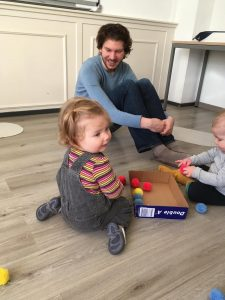 0 – 2 years old, Introduction to French For Toddlers   Wednesdays 10am-10:50am 19/8/2020 – 9/6/2021