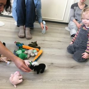 0 – 2 years old, Francophiles Early learning Wednesdays 10:00am – 10:50am