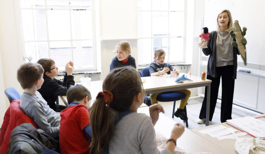 6 – 8 years old, French introduction Wednesdays 3:30pm – 4:20pm