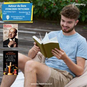 Autour du livre B1&B2 Thursdays 6pm-8pm (24 hours) 03/09/2020-19/11/2020