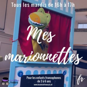 Mes marionnettes mardi 16h-17h