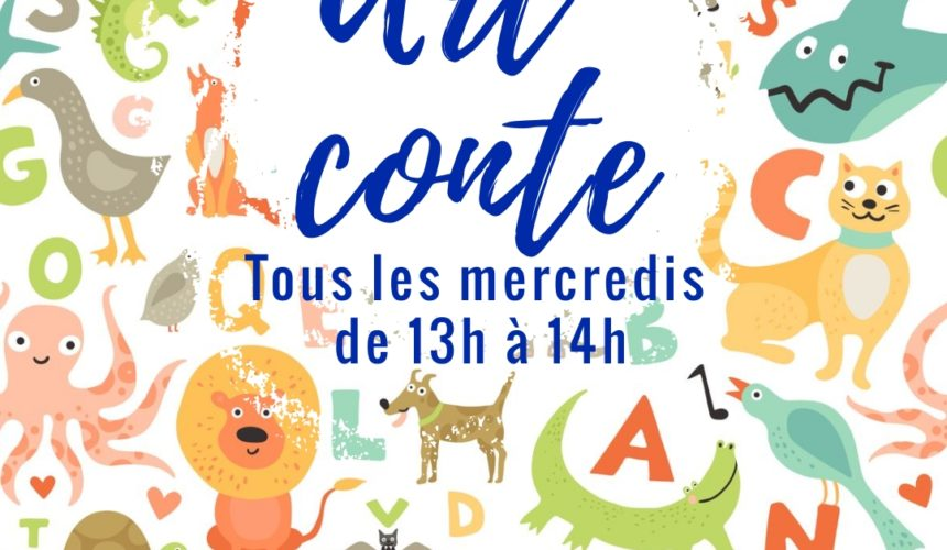 Art conte mercredi 13h-14h
