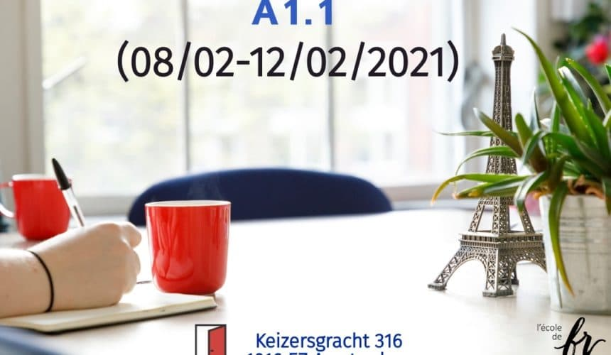 Intensive French Course  A1.1 |February| (08/02-12/02/2021)