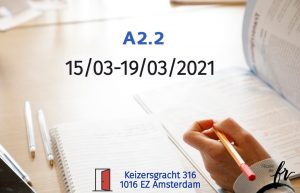 Intensive French Course  A2.2 |March| 18 hours/1 week (15/03 – 19/03/2021)