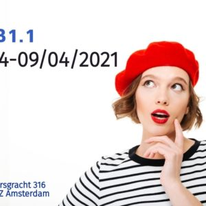 Intensive French Course  B1.1 |April| 18 hours/1 week (05/04-09/04/2021)