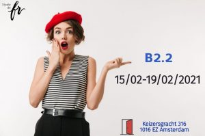 Intensive French Course  B2.2 |February| 18hours/1week (15/02-19/02/2021)