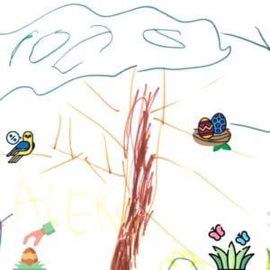 Le 3 avril prochain L'école de français organise une chasse aux oeufs !