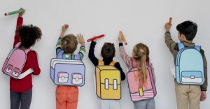 6 – 8 years old, French course for non-French speakers, SATURDAYS 9.20am-10.20am (28/8/2021 – 9/7/2022)