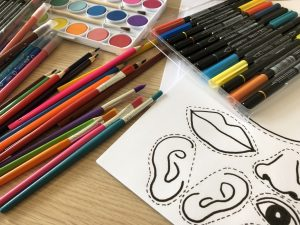 Une âme d'artiste, art activities For French speaking and non-French speaking children, Wednesday 3.30pm – 4.30pm, (1/9/2021-15/6/2022)
