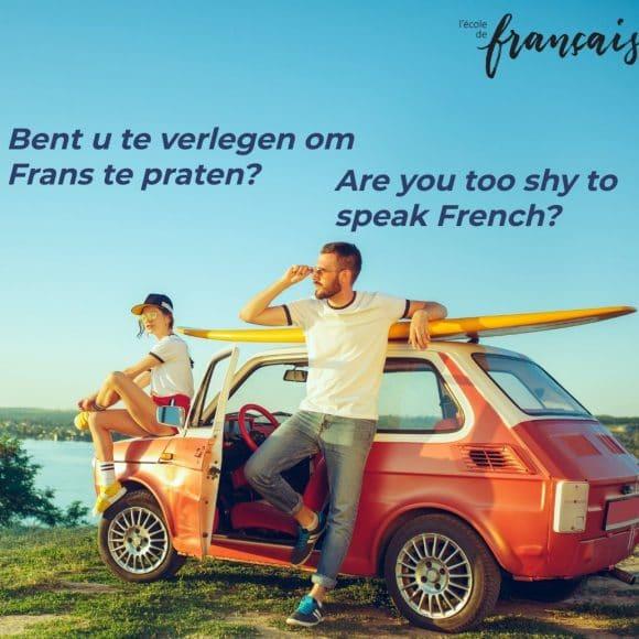 Francais en action, CONVERSATIECURSUS,  A1.2 & A2  ONLINE   Maandag 01/03-31/05/2021, 15-16.30uur